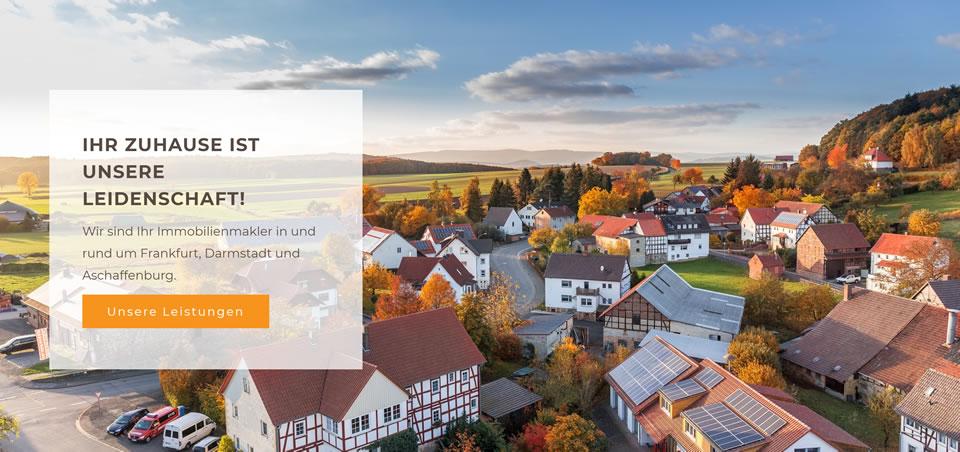 Immobilienmakler Dieburg. Haus verkaufen. Immobilienaufnahmen